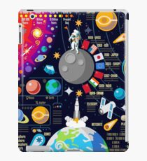 Space Universe Infographics Big Bang iPad Case/Skin