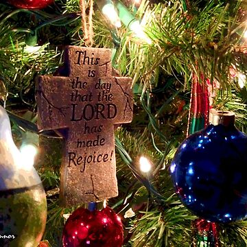 Christmas Lord Rejoice Ornament by JoeyOConnor