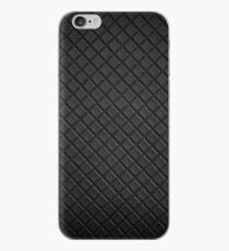 Black leather lattice pattern - By Brian Vegas iPhone Case