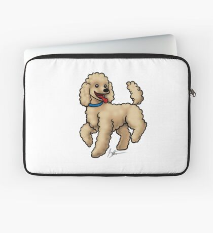 Poodle Brown Laptop Sleeve