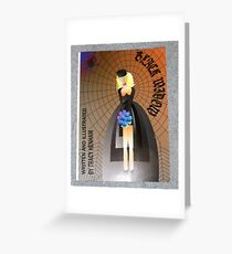 black widow cover of book Greeting Card