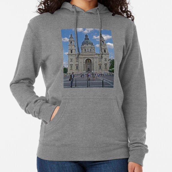 St Stephen's Basilica, Budapest, Hungary Lightweight Hoodie