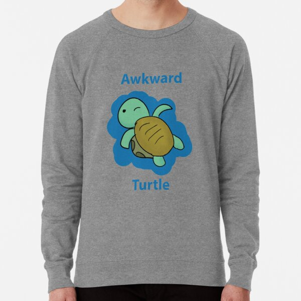 Awkward Turtle  Lightweight Sweatshirt