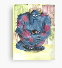 Kitty and Boo Canvas Print