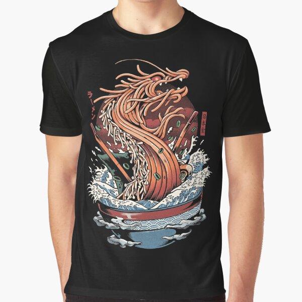 Ramen Dragon Graphic T-Shirt