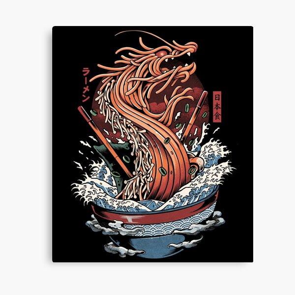 Ramen Dragon Canvas Print