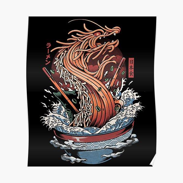 Ramen Dragon Poster