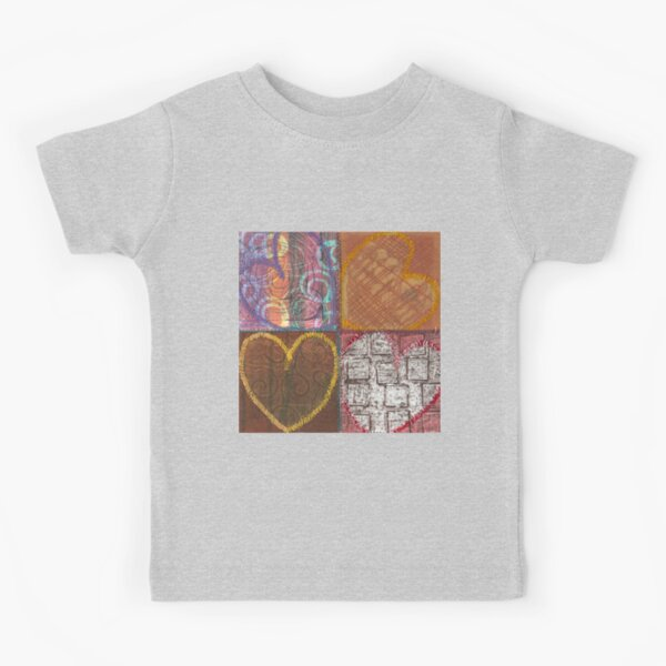 In the Center Harmony Waits Kids T-Shirt