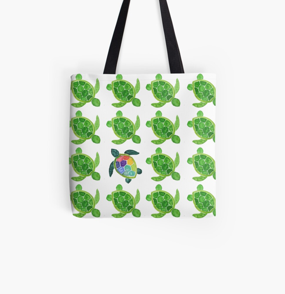 Stand Out All Over Print Tote Bag