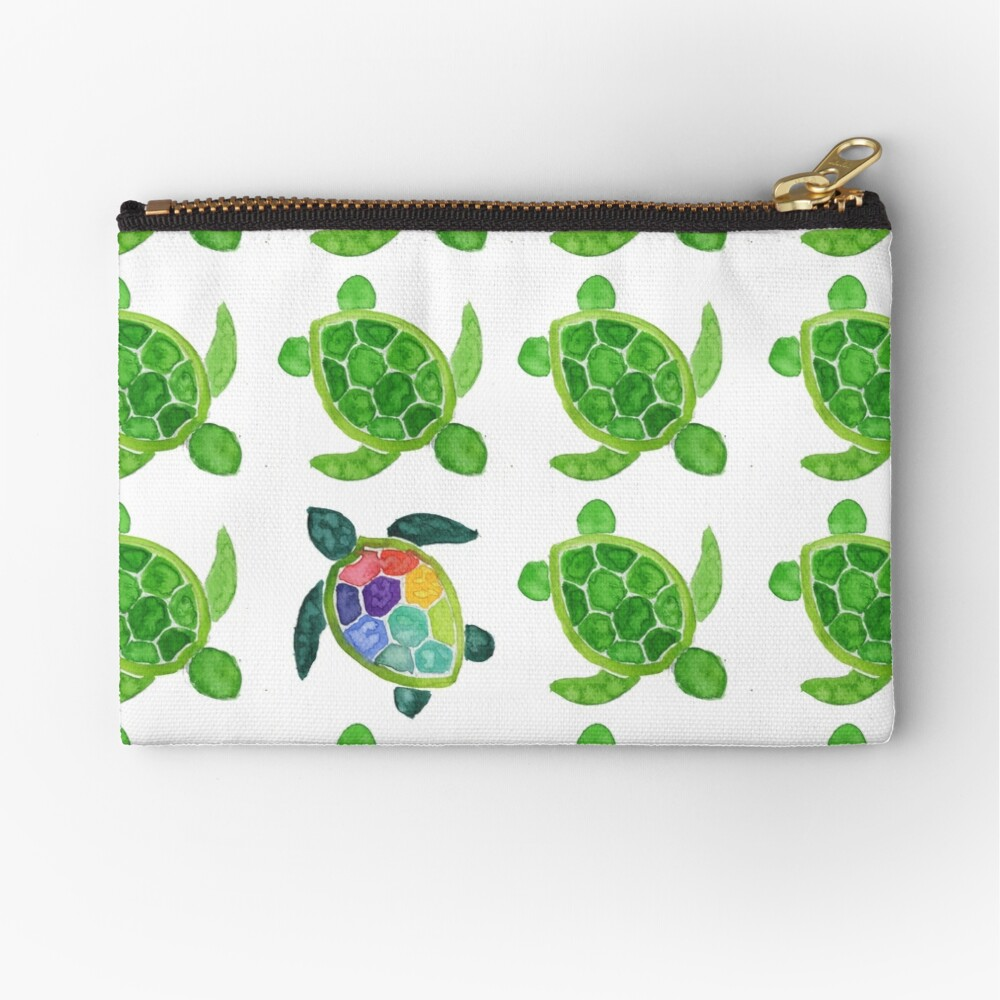Stand Out Zipper Pouch