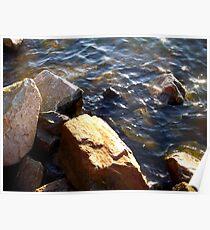 Glistening Water  Poster