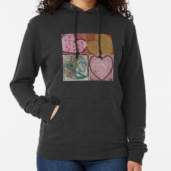 Square Root of 16 Equals Love Lightweight Hoodie