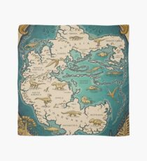 map of the supercontinent Pangaea Scarf