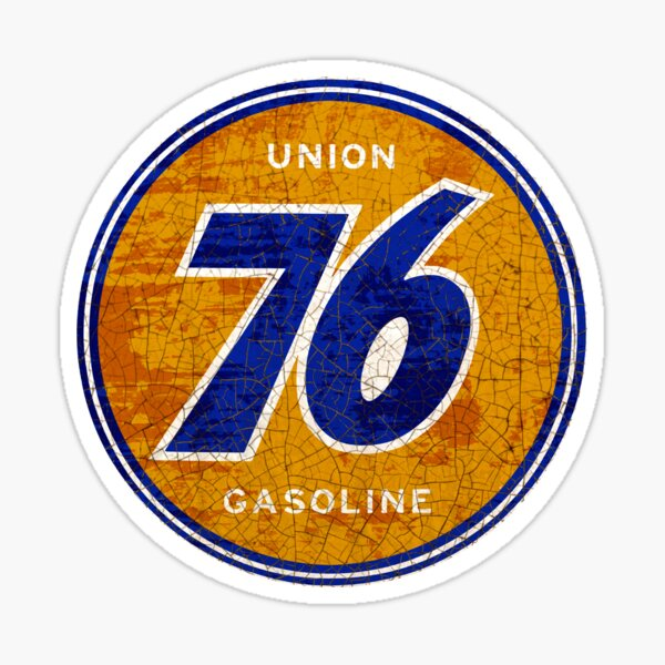 Union 76 gas and OIL Sticker