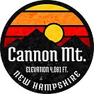 Ski Cannon Mountain New Hampshire Skiing Aerial Tram by MyHandmadeSigns
