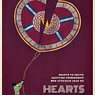 Hearts vs Celtic Match Poster by madebyfrankie