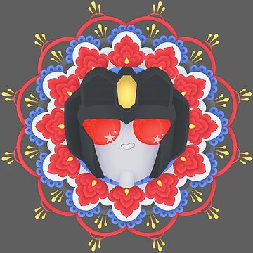 Starscream Mandala ~ Transformers by Chioccetta
