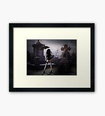 Night Queen Framed Print