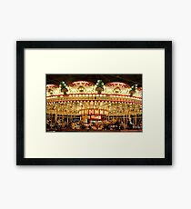 The 1921 C.W. Parker Carousel Framed Print