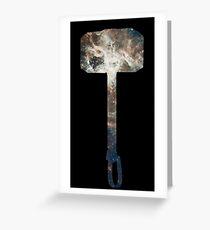 Mjölnir Space Greeting Card