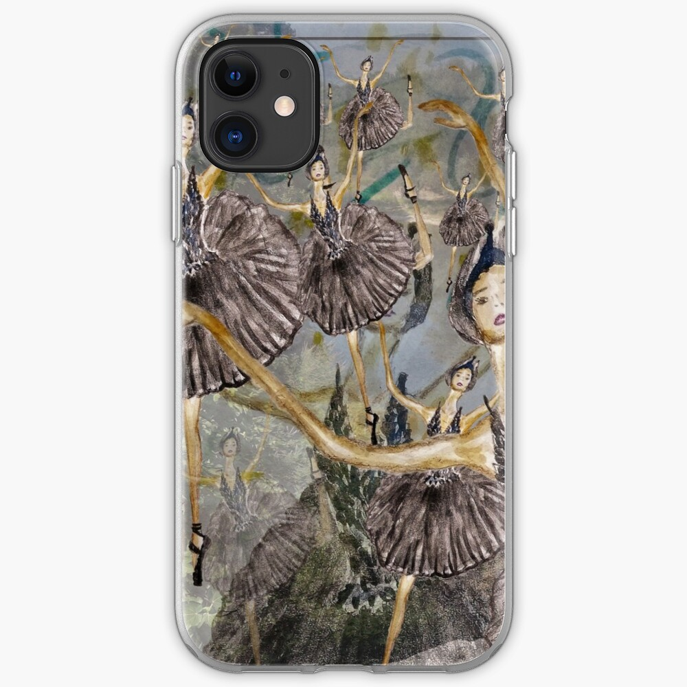 Ballet SWAN LAKE dancer  iPhone Case & Cover