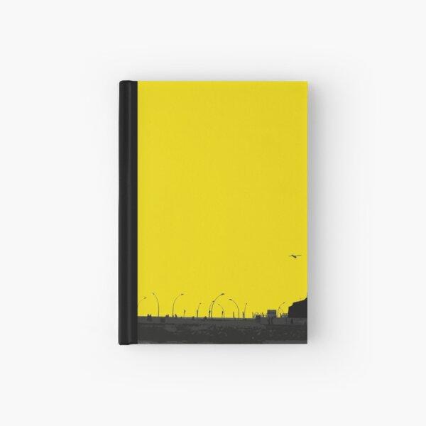 sunset lamp posts Hardcover Journal