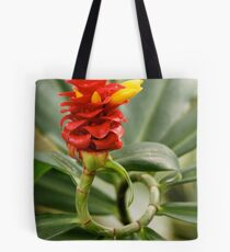 The Plant That Twisted All Around Tote Bag