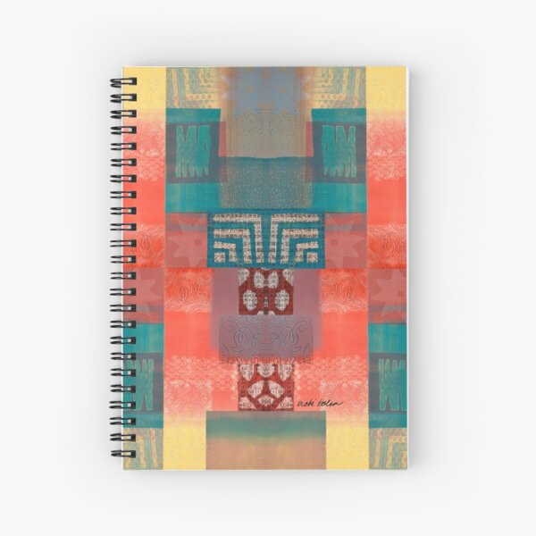 All the Stars Wish for a Kiss from the Ocean Spiral Notebook