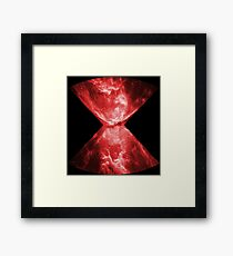 Widow Space Framed Print