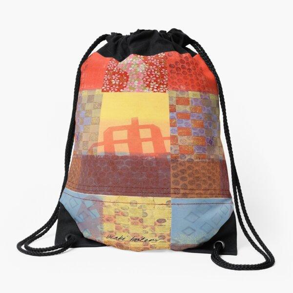 Encapsulation of Joy a Lovers Tonic Drawstring Bag