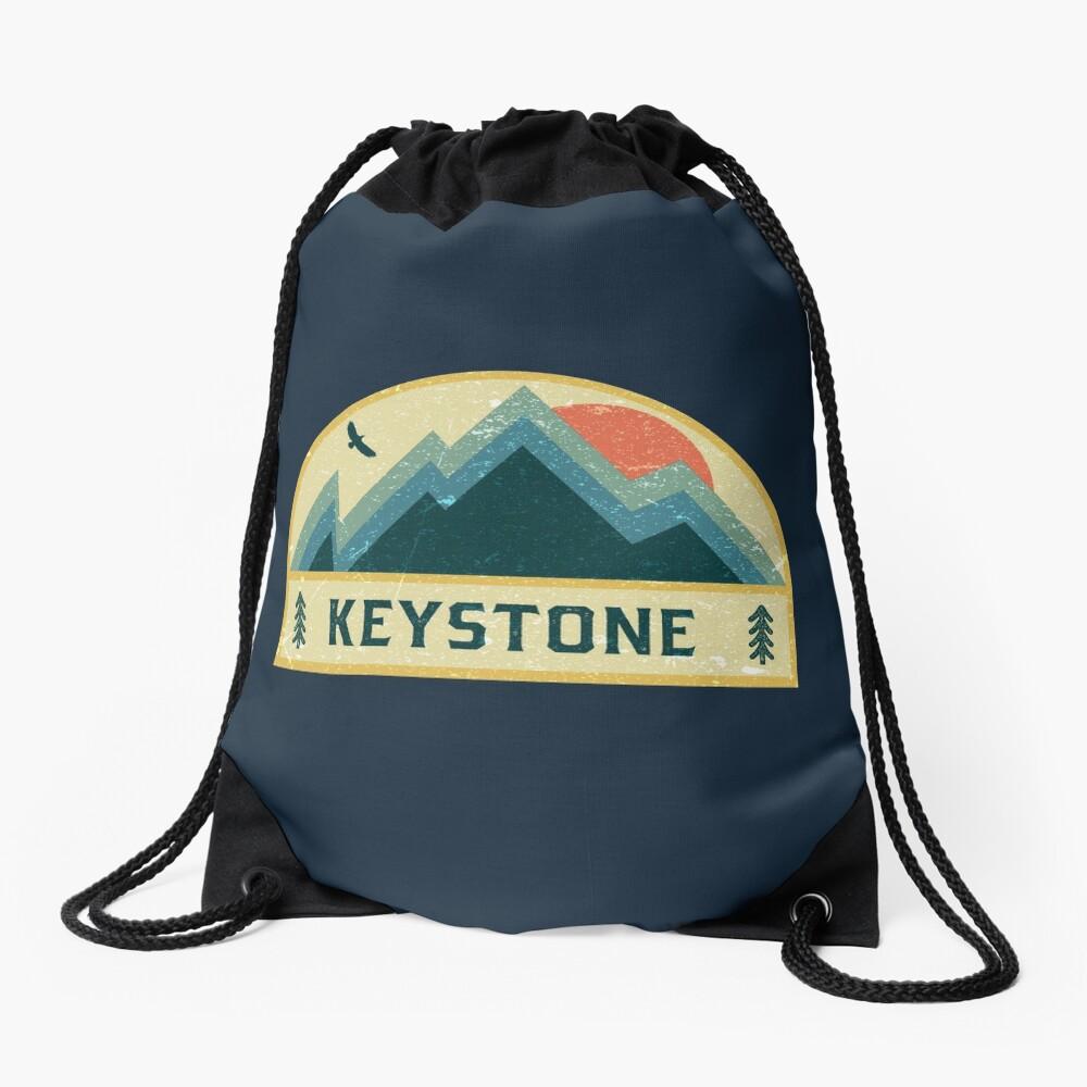 Keystone Retro Berg Abzeichen Turnbeutel