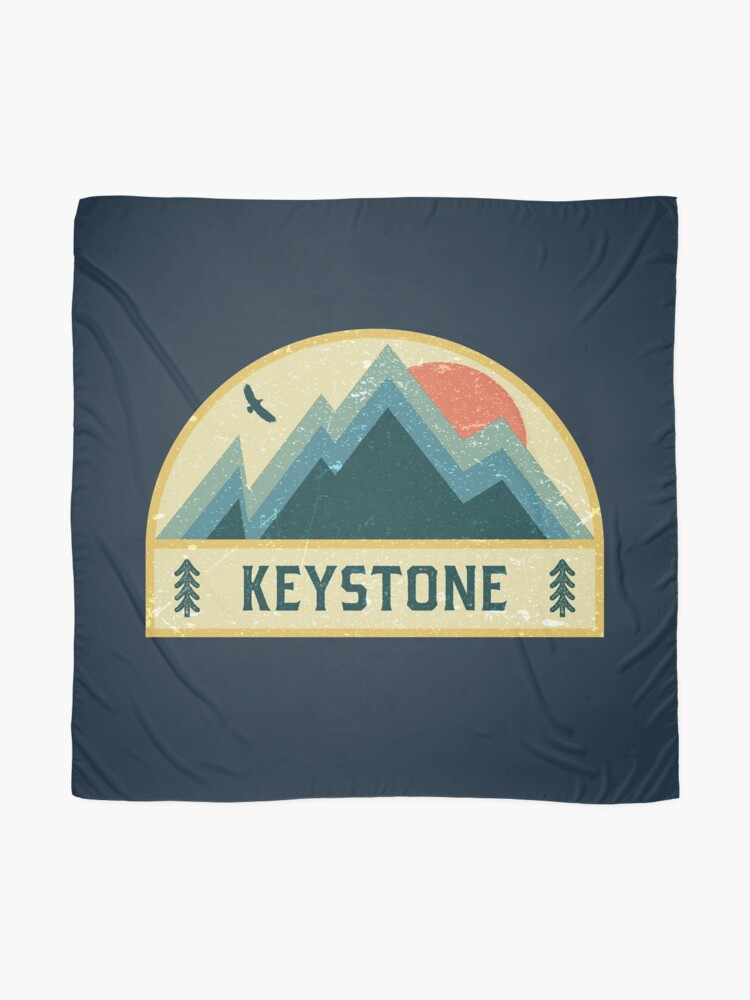 Alternative Ansicht von Keystone Retro Berg Abzeichen Tuch