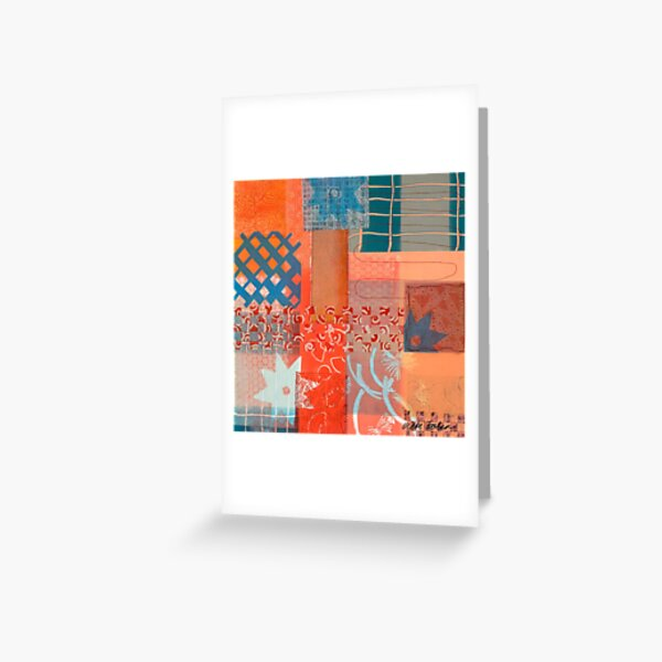 The Flicker of Ancient Smiles Greeting Card