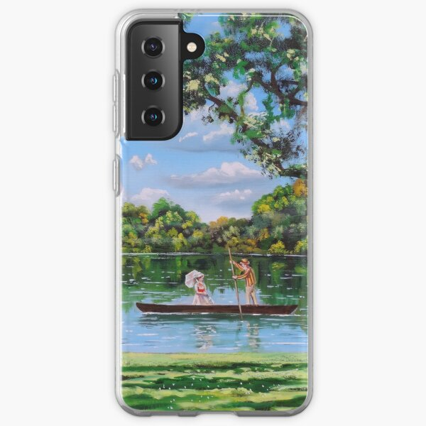 Mary Poppins in the park Samsung Galaxy Soft Case