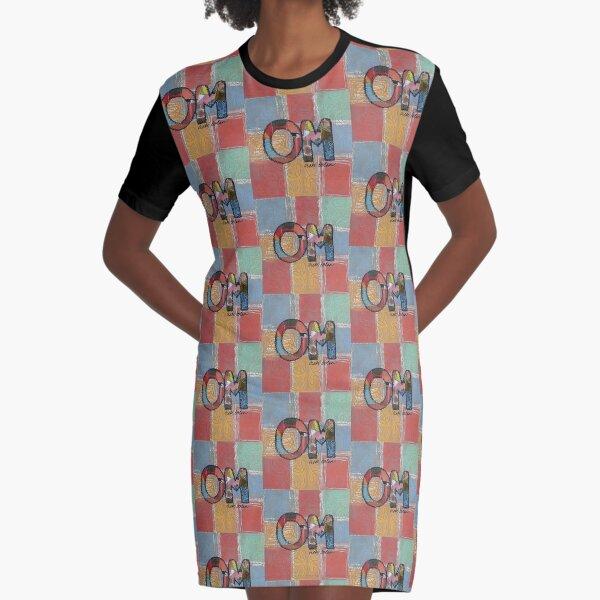 OM Graphic T-Shirt Dress