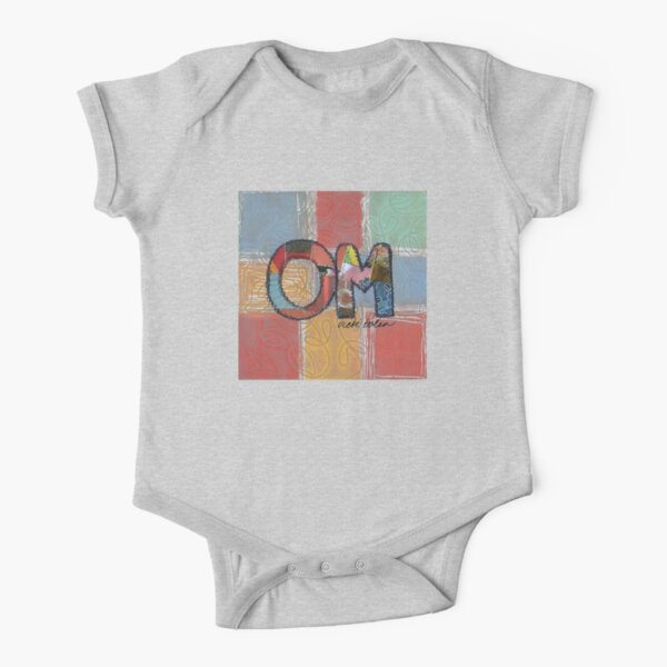 OM Short Sleeve Baby One-Piece