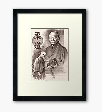 Jigoro Kano Gerahmtes Wandbild