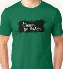 Eirinn Go Brach - Ireland Forever Slim Fit T-Shirt