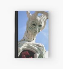 tree sculpture Hardcover Journal