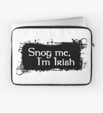 Snog Me, I'm Irish Laptop Sleeve