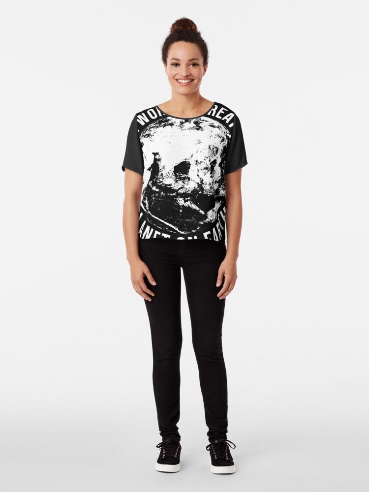 Alternative Ansicht von Worlds Greates Planet On Earth  T-Shirt Geschenk Chiffon Top