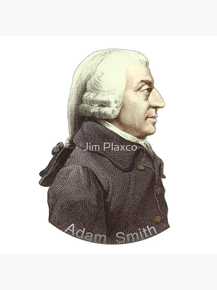 Scottish Economist Adam Smith Portrait by JimPlaxco