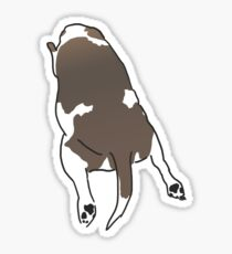 Big Beagle Splat Sticker