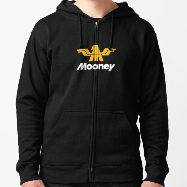 Mooney Vintage Aircraft USA Zipped Hoodie