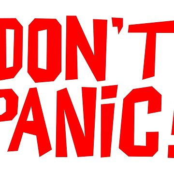 NDVH Don't Panic - Red 1 by nikhorne