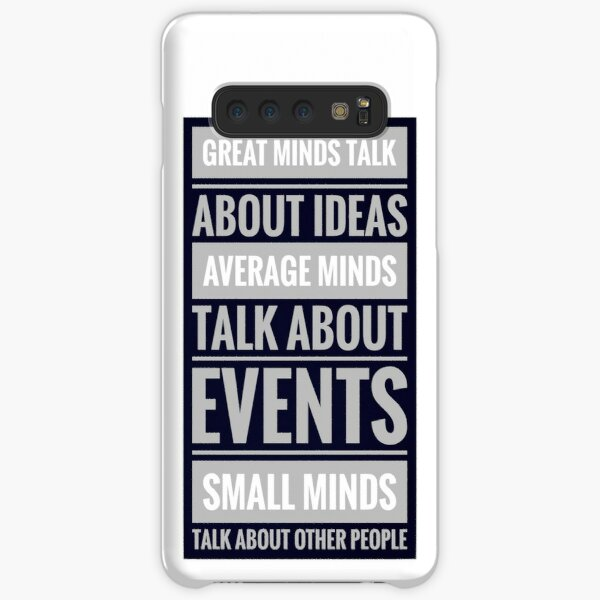 Great people talk about ideas Samsung Galaxy Snap Case