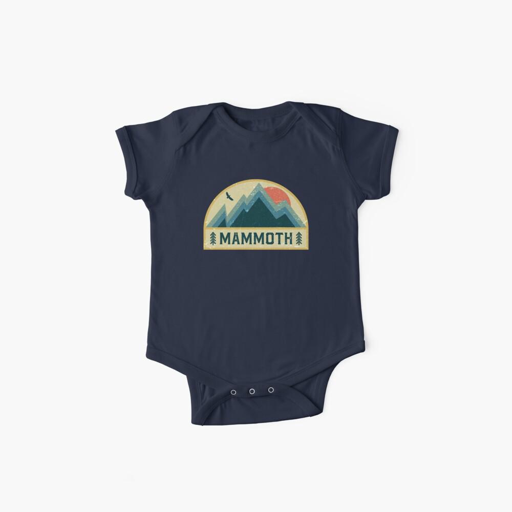 Mammut Retro Berg Abzeichen Baby Body