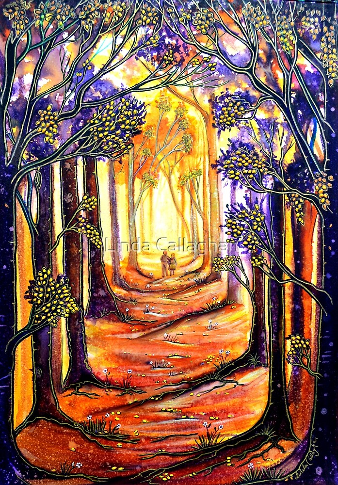 Trees - A Moment in Time by Linda Callaghan