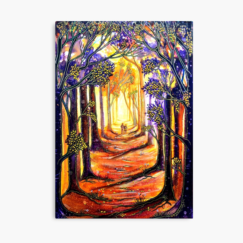 Trees - A Moment in Time Canvas Print
