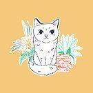 Garden Cat by Brittany Hefren